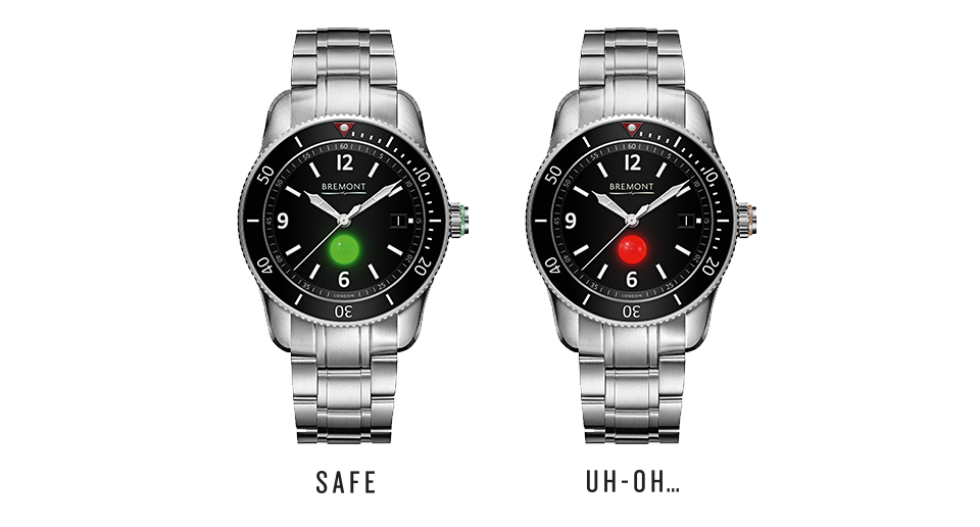 Bremont Supermarine FA-UX divers watch with shark-detection, April Fools