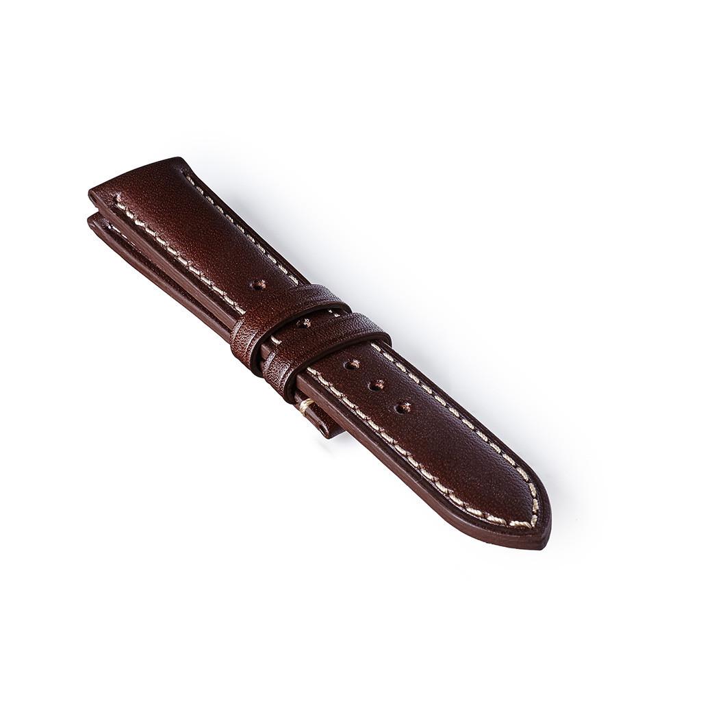 Bremont leather strap dark brown