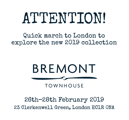 Bremont Townhouse Invitation Text