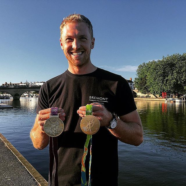 Alex Gregory- Olympic Rower